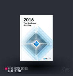 Abstract design of business brochure for vector