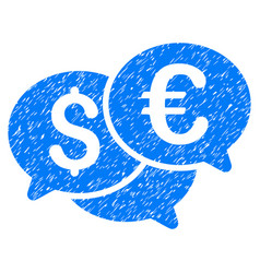 Currency bids grunge icon vector