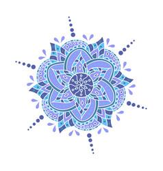 mandala - round ornament traditional vector image