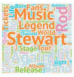 Rod stewart tickets quot the mod quot returns to vector