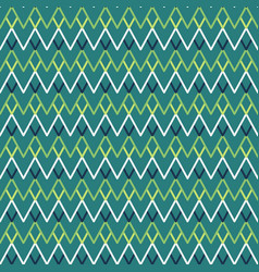 seamless zigzag lines vector image vector image