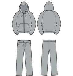 Smock and pants vector image