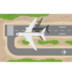 take off vector image