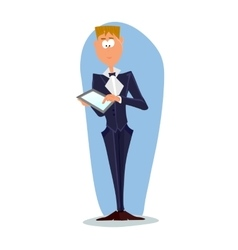 Business man cartoon character- vector