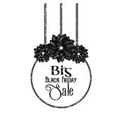 Big black friday sale vector