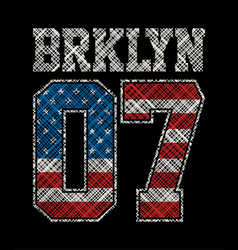 brooklyn 07 vector image vector image