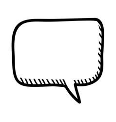 Comic bubble chat vector