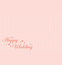 Greeting card wedding cute style collection vector