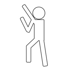 Person pictogram icon vector