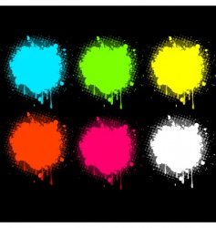 splash electric collection vector image