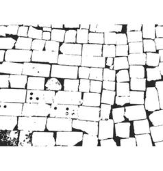 vintage brick masonry vector image vector image