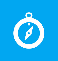 Compass icon pictogram vector