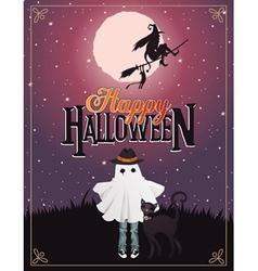 halloween 7 vector image