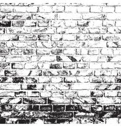 Dirty Brick Wall vector image