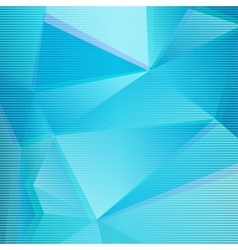 Abstract BlueTriangle Background vector image vector image