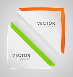 Design banner vector image vector image