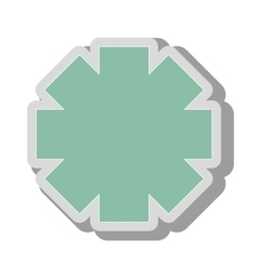 emergency medical symbol icon vector image