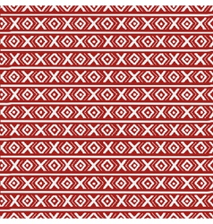 Russian stripes ethnic seamless pattern xoxo vector
