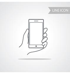 Modern technology smart phone icon vector