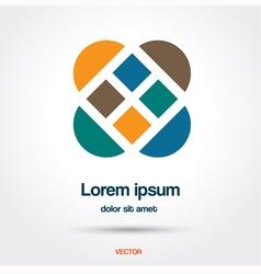 Abstract creative logo vector image