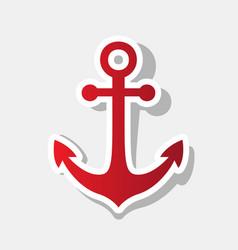 Alarm clock sign new year reddish icon vector
