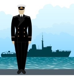 Military uniform navy sailor-10 vector