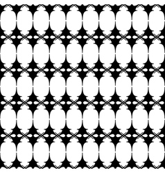 Oval and triangle geometric seamless pattern 1307 vector image