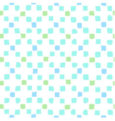 Blue and green squares background vector