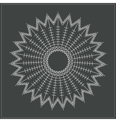 Geometric hipster circle 617547168 vector