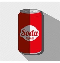 soda can design vector image