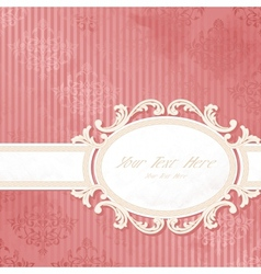 antique wedding background vector image vector image