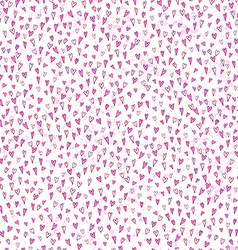 Hearts pink seamless pattern vector image vector image