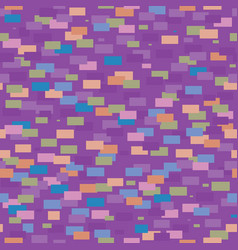 seamless pattern of colorful geometric vector image vector image