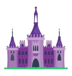 Castle cartoon vector