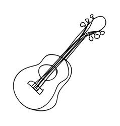 Guitar instrument icon image vector