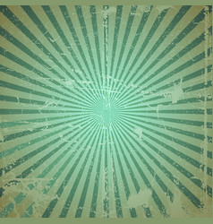 Grunge sunburst vector