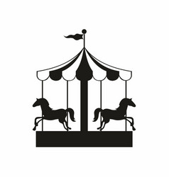 Carousel for design vector