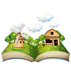Farm book vector
