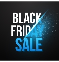 Black friday sale exlosion poster template vector
