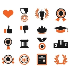 Trophy and prize symbol vector