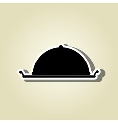 Tray icon design vector
