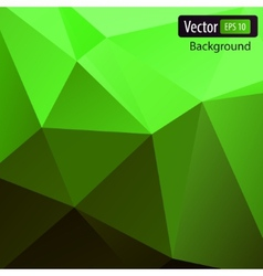 Dynamic polygonal background vector