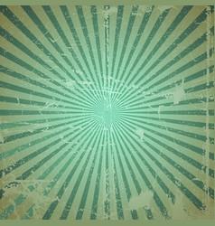 Grunge sunburst vector