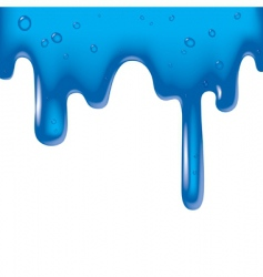 viscous liquid vector image vector image