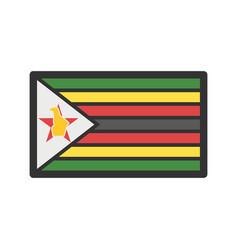 zimbabwe vector image vector image