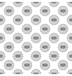 Cover beer seamless pattern vector