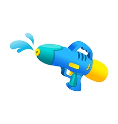 Icon water gun vector