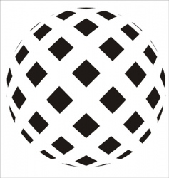 ball icon vector image vector image