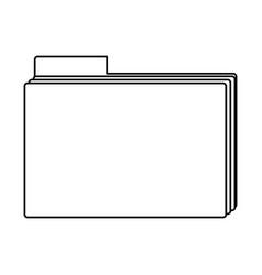 Office folder symbol vector