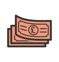 Pound currency vector